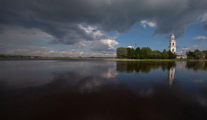 Слияние рек Соги, Согожи и Пертомки