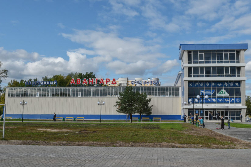 Стадион и спортивный комплекс «Авангард»