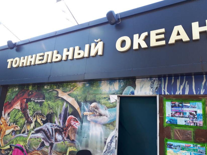 Тоннельный аквариум