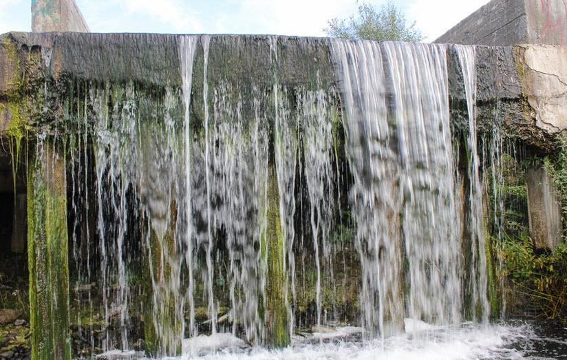 Утякский водопад