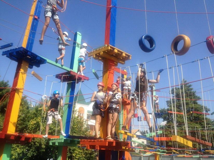 Веревочный парк «Лазалка»