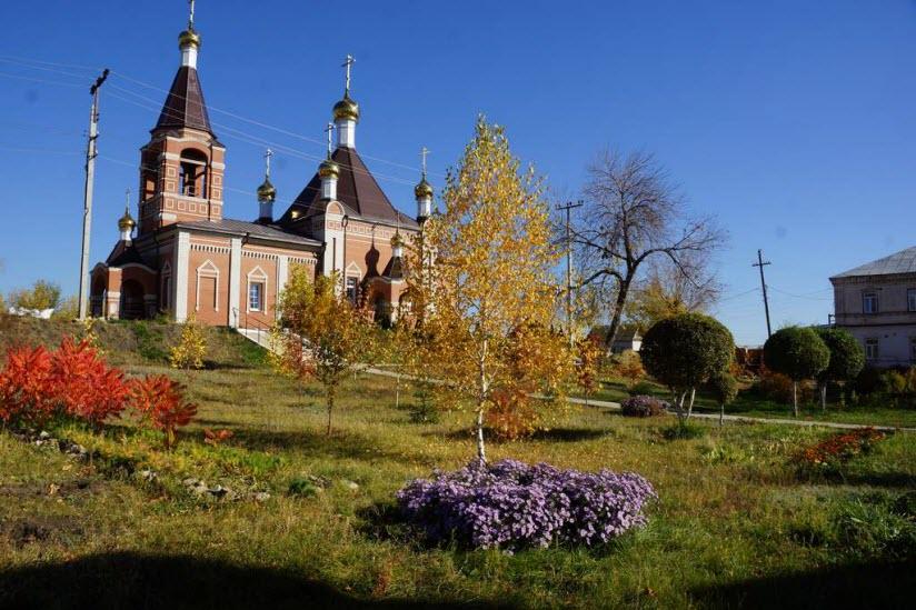 Владимирский женский монастырь в Вольске