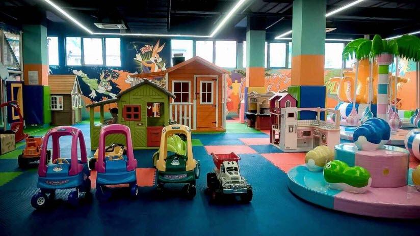 Детская развлекательная площадка «Бирюзайка»