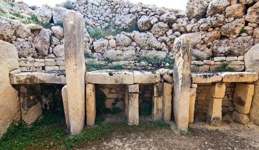 Древняя стоянка Мальта