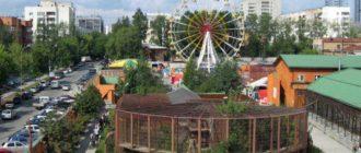 развлечения Екатеринбурга для детей