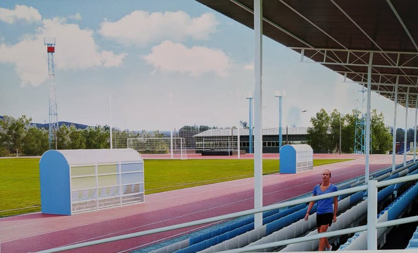 Футбольное поле «Юность»