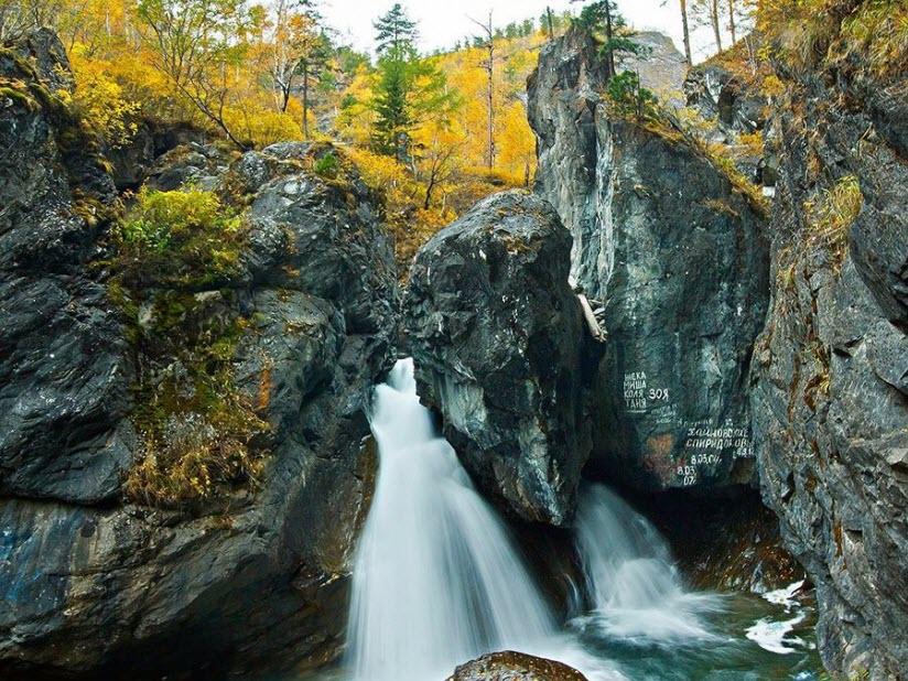 Кынгаргские водопады