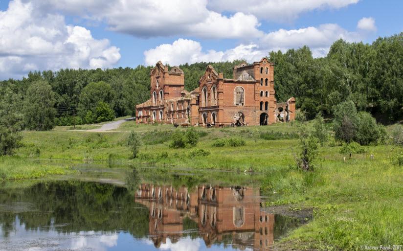 Петропавловский винокуренный завод в Муромцево