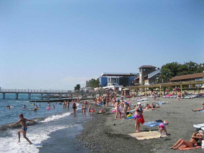 Пляж «Чайка»