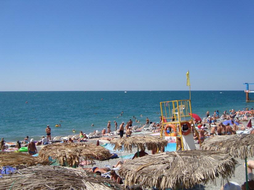 Центральный пляж «Лазурный»