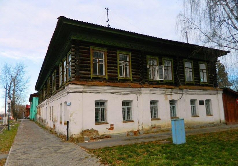 Дом купца И.А. Кутырева