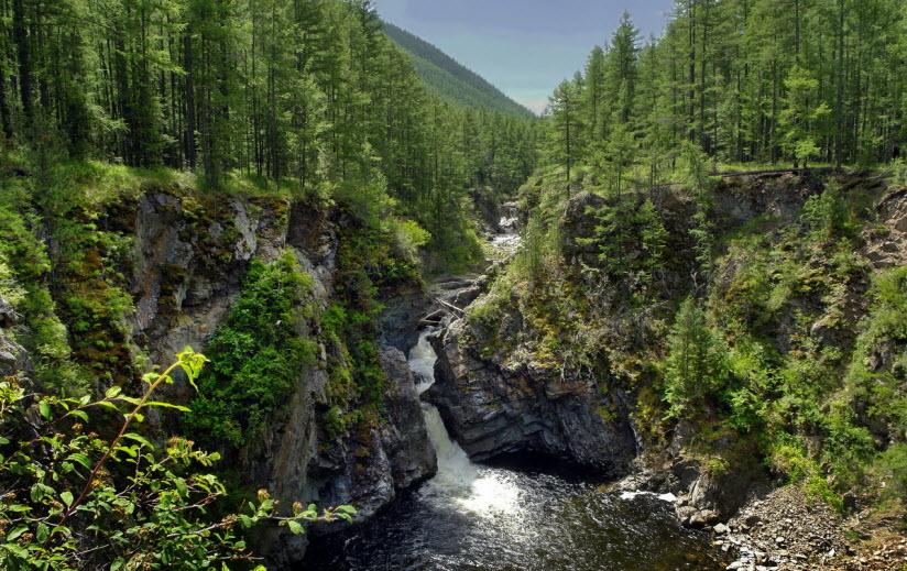 Дургенский водопад