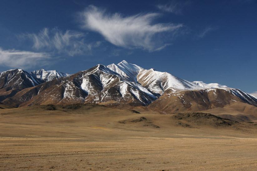 Гора Монгун-Тайга