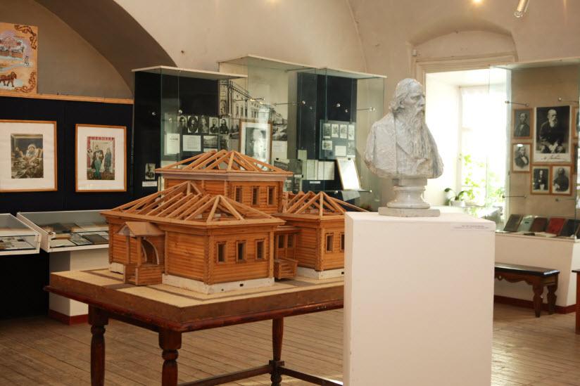 Музей-усадьба Салтыкова-Щедрина внутри