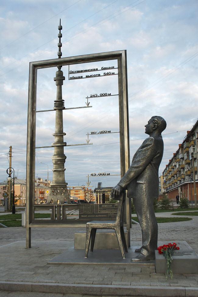 Памятник Инженеру-конструктору Н.В. Никитину