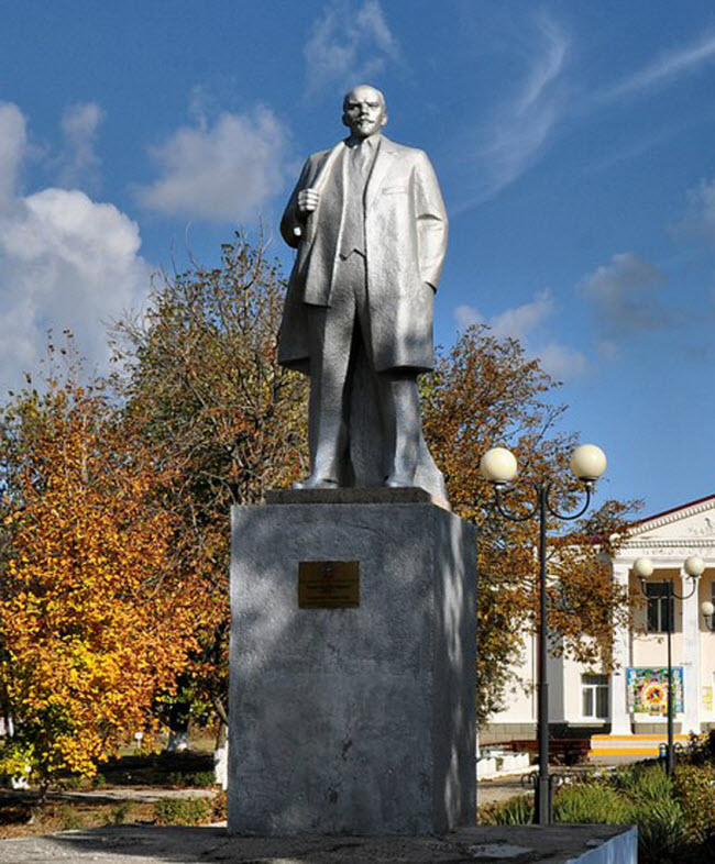 Памятник В.И. Ленину