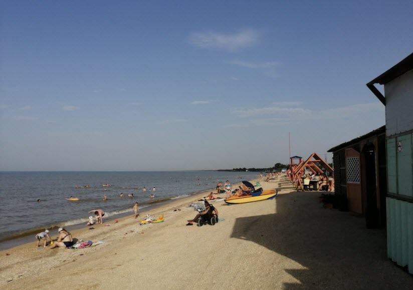 Пляж кемпинга «Ассоль»