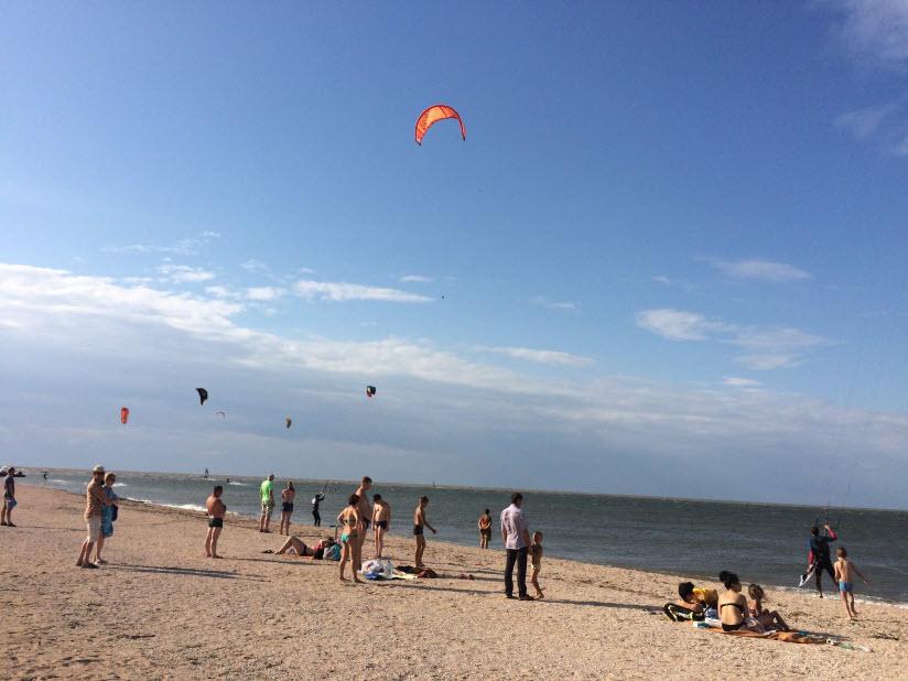 Пляж кемпинга «Якорь»