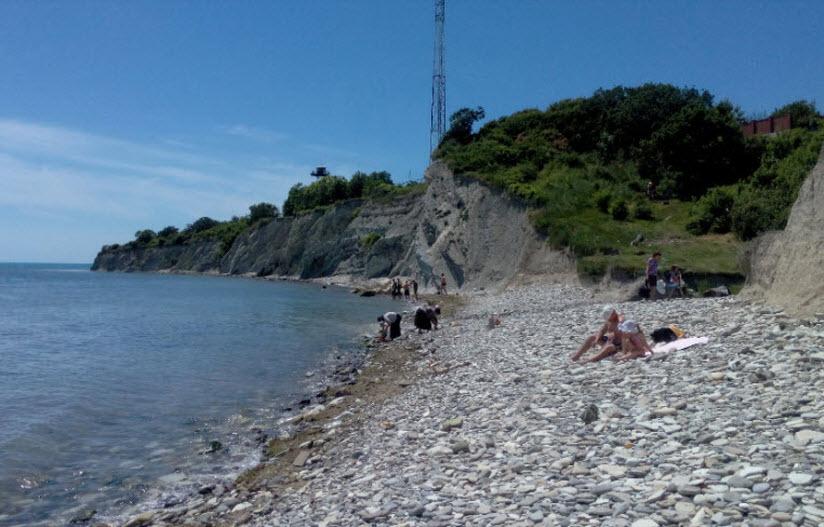 Пляж отеля «Мысхако»