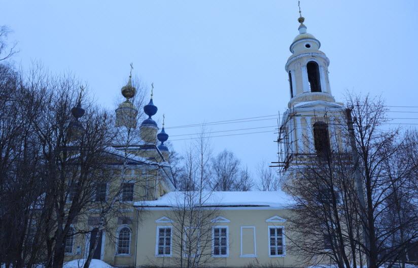 Церковь Сергея Радонежского