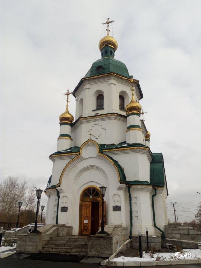 Церковь-часовня святого праведного Даниила Ачинского