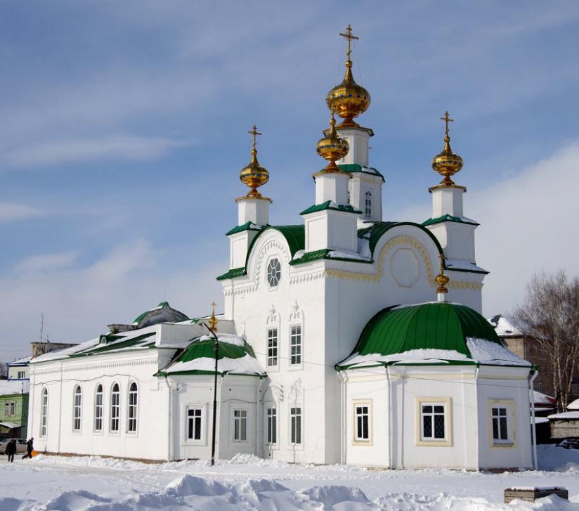Успенский храм Пресвятой Богородицы