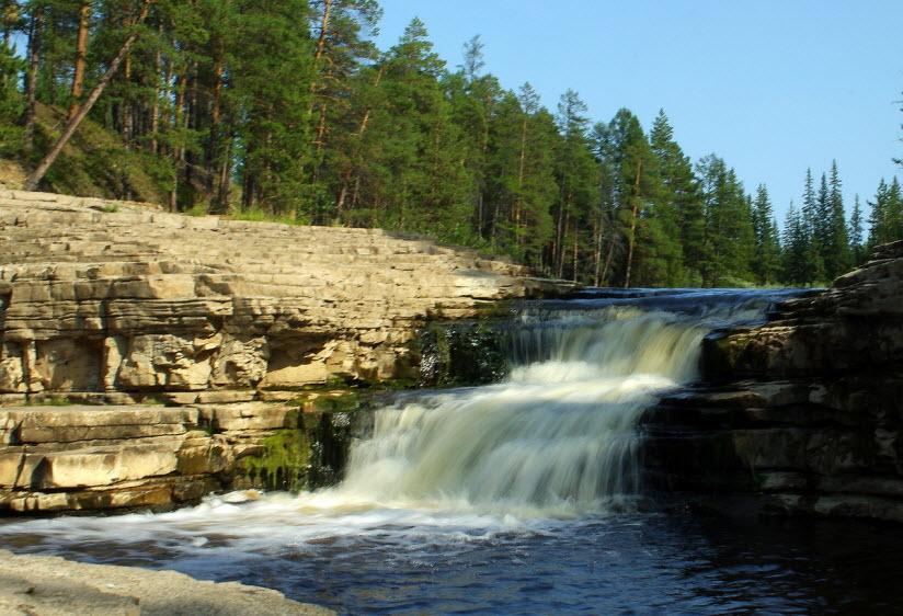 Водопад Курулуур