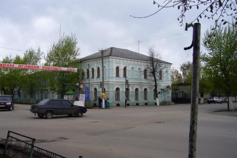 Здание бывшей аптеки