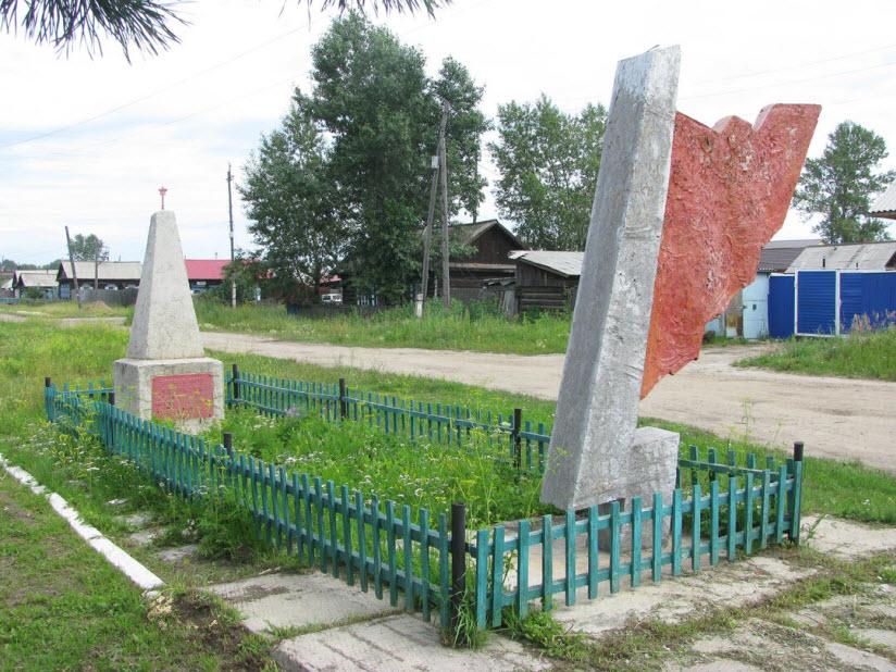 Братская могила партизан и жителей Канска