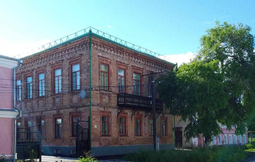 Дом мещанина С.С. Хлебина