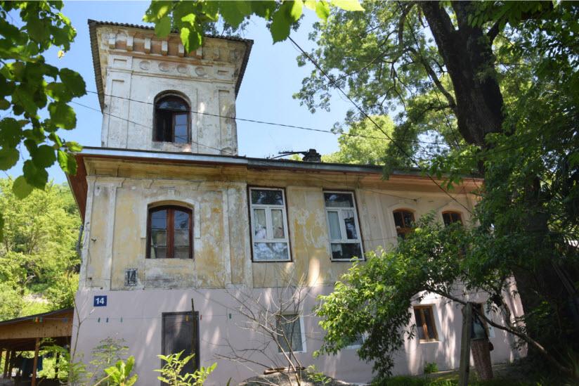 Дом управляющего царским имением Г.Ф. Успенского