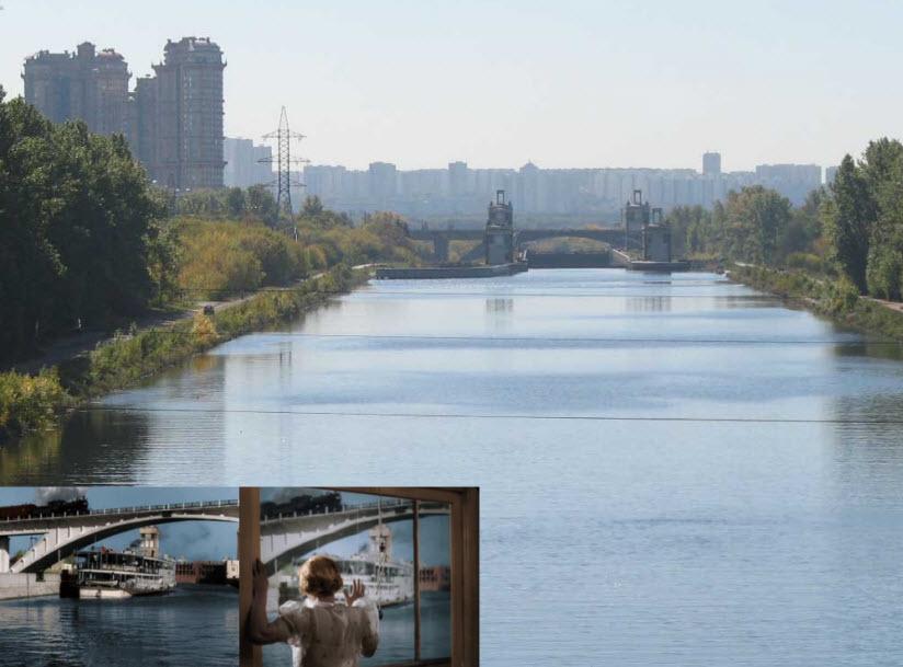Место съемки фильма «Волга-Волга»