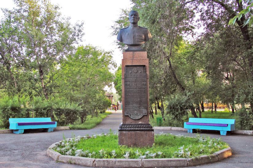 Памятник С.И. Кретову