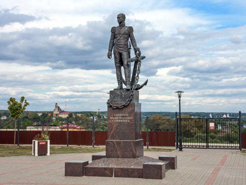 Памятник адмиралу Д. Сенявину