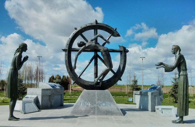 Памятник забытой войне, изменившей ход истории