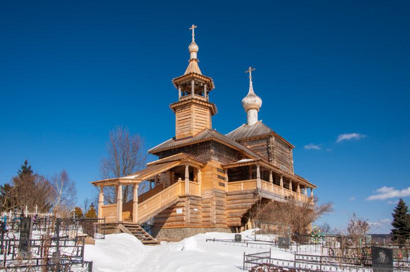 Покровский храм Богоматери на Высоком