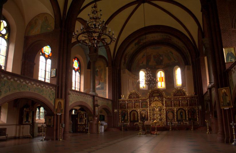 Собор Архангела Михаила внутри