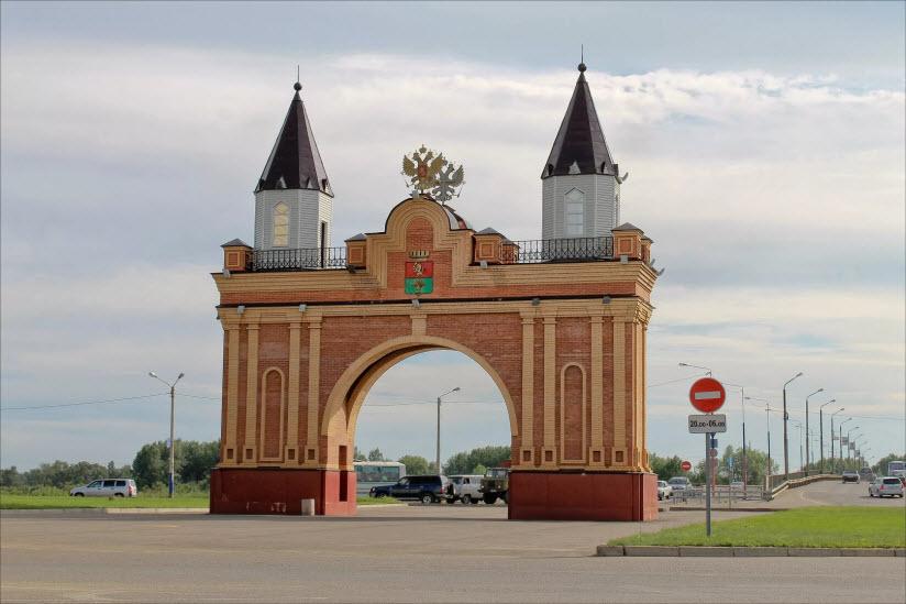 Триумфальная арка «Царский врата»