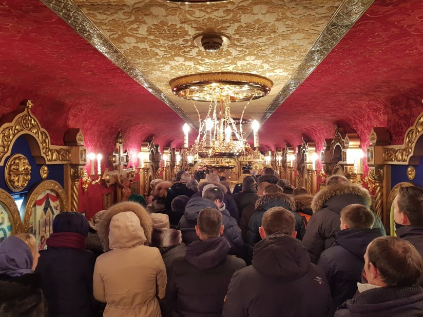 Вагон-храм княгини Ольги