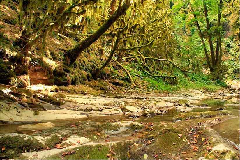 Водопад «Ведьмино ущелье»