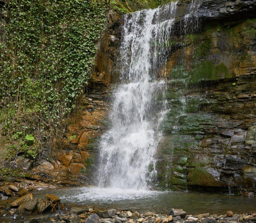 Водопады второго притока Кутарки