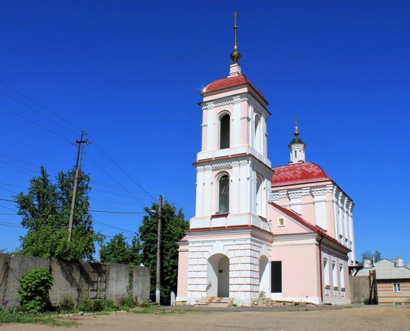 Воздвиженская церковь Честного Креста Господня