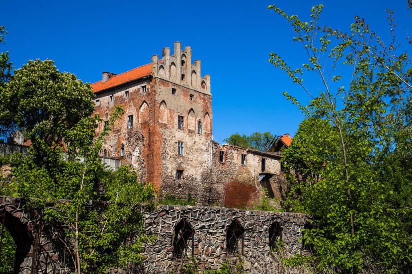Замок Георгенбург на фото
