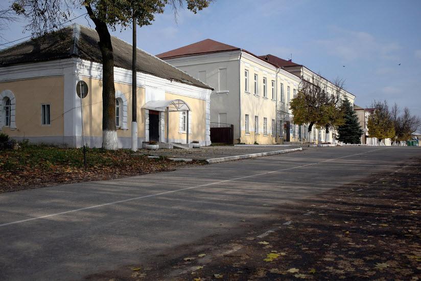 Здание бывшего музея