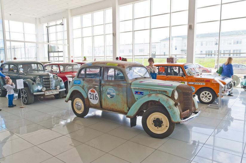 Автомобильный музей «Ретро-гараж»