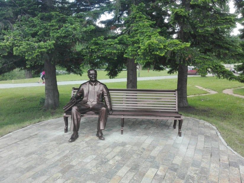 Памятник Е.П. Славскому