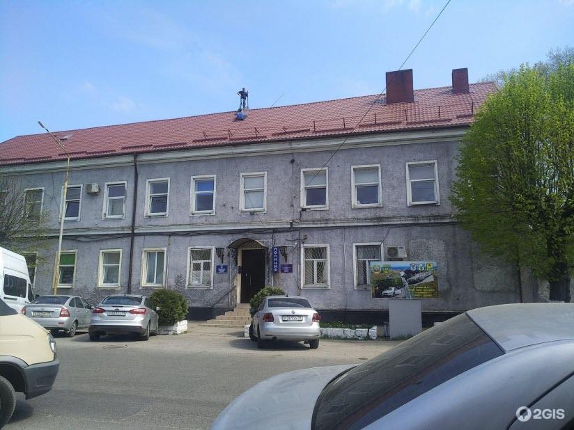 Здание Межрайонного отдела вневедомственной охраны