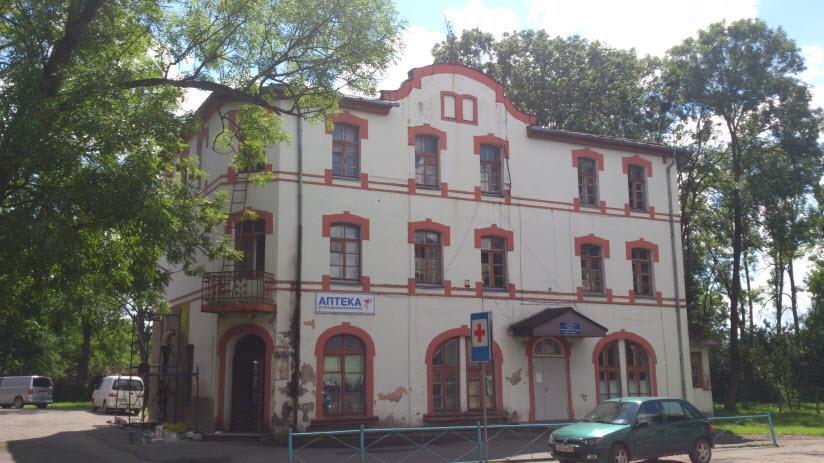 Здание привокзального отеля
